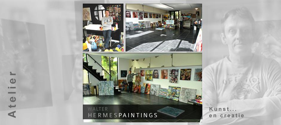 Atelier Walter Hermes - hermespaintings.nl