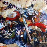 High Resolution Art Download - hermespaintings.nl - Harley Davidson - Atelier hermespaintings.nl - Walter Hermes