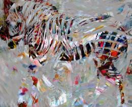 Portfolio Foto -Zebra 2 Atelier - door hermespaintings - Walter Hermes
