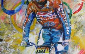 Portfolio Foto - olympische sport - BMX Biker - door hermespaintings - Walter Hermes