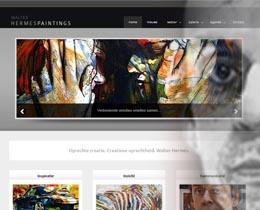 Banner van de nieuwsrubriek artikel nieuwe website hermespaintings.nl